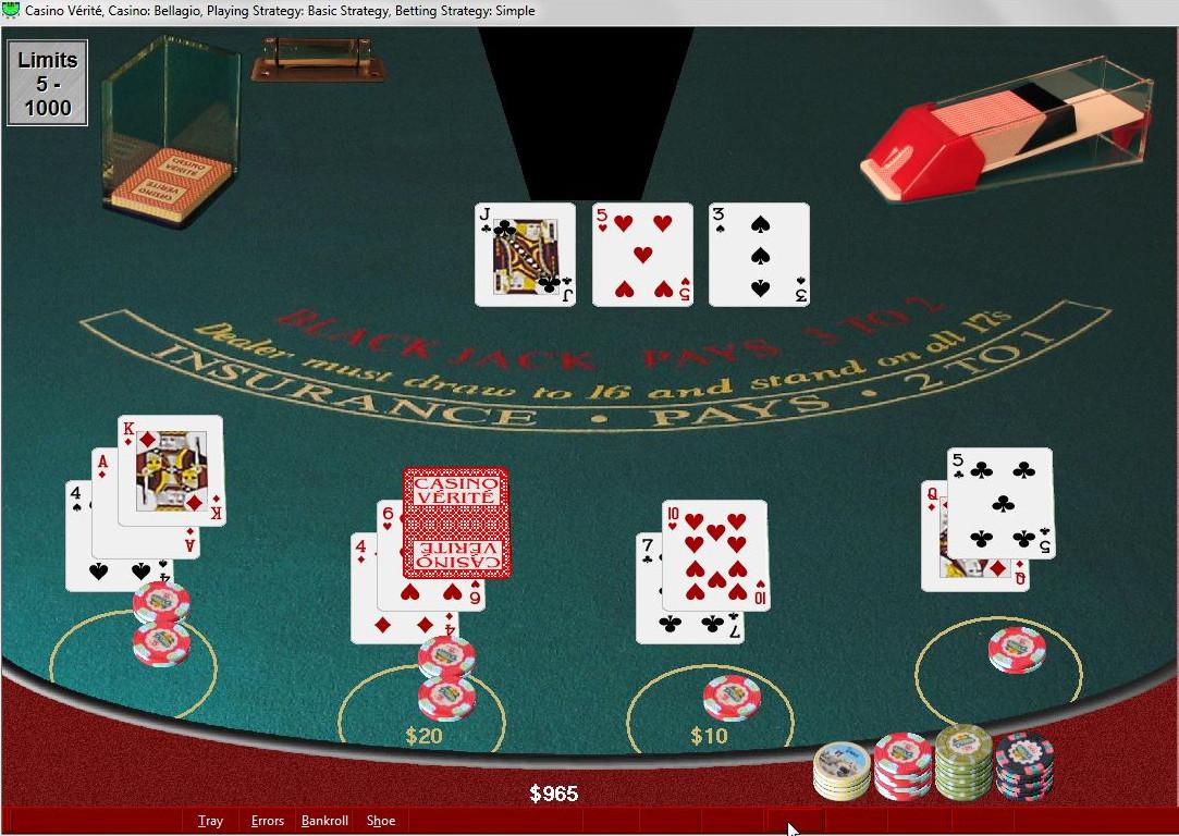Blackjack : suivez la stratégie de base pour gagner
