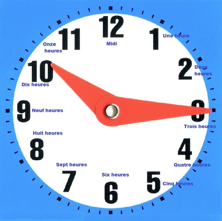 apprendre les heures en anglais nw92