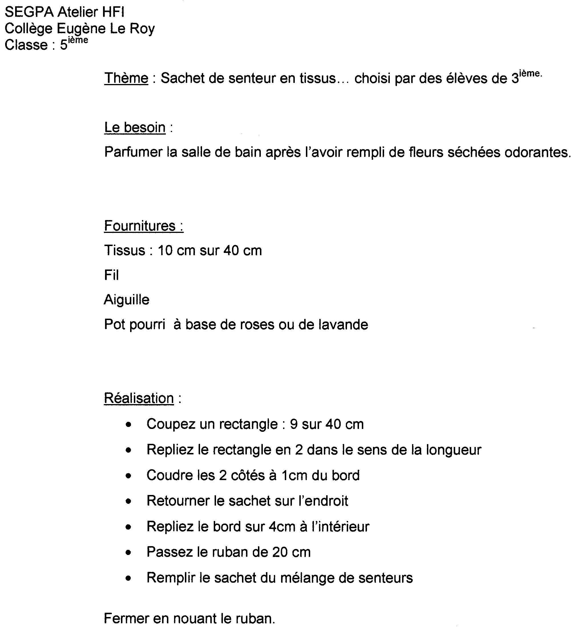 Célèbre Comment faire une fiche de francais ? BA54